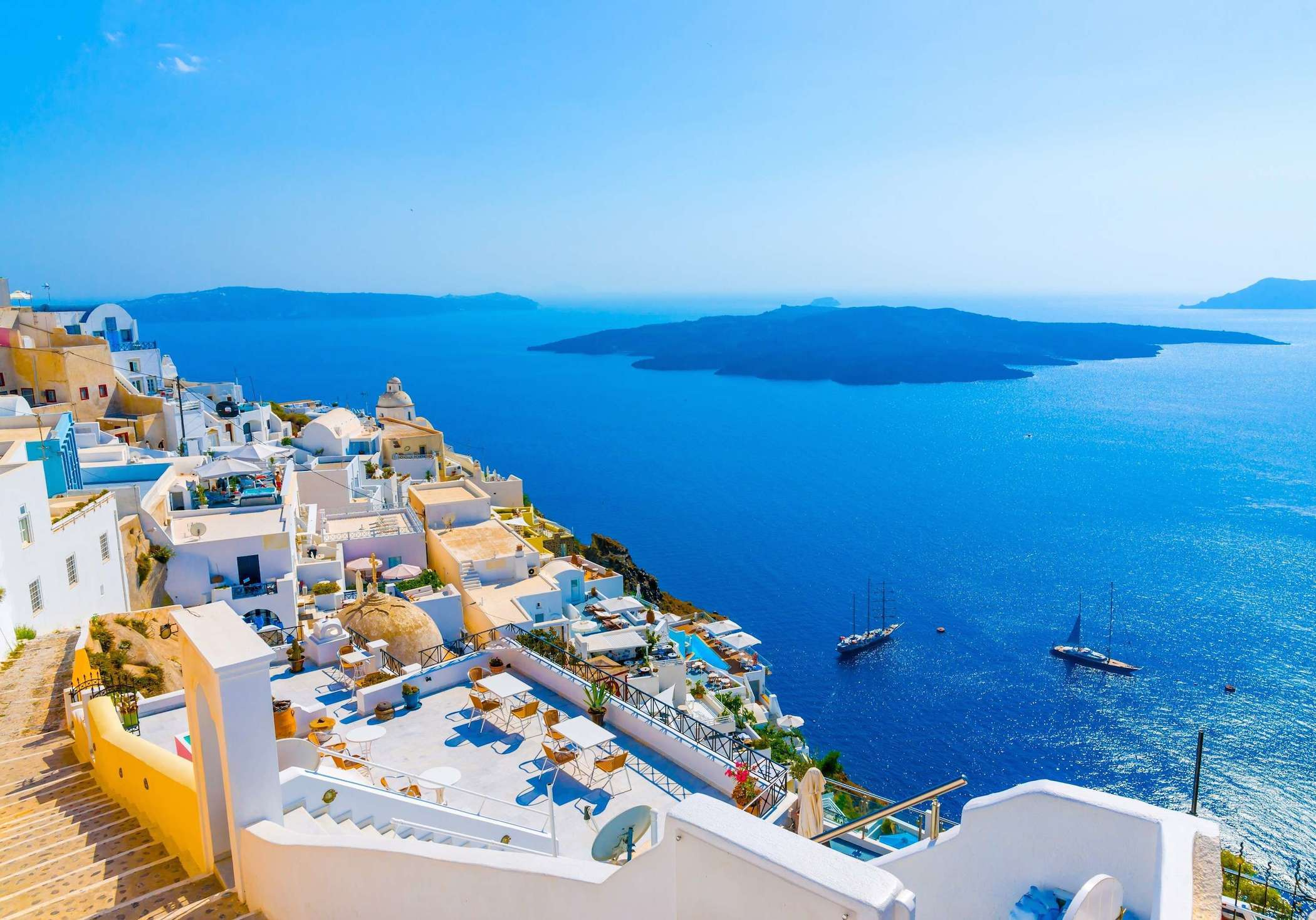 santorini luxury holidays