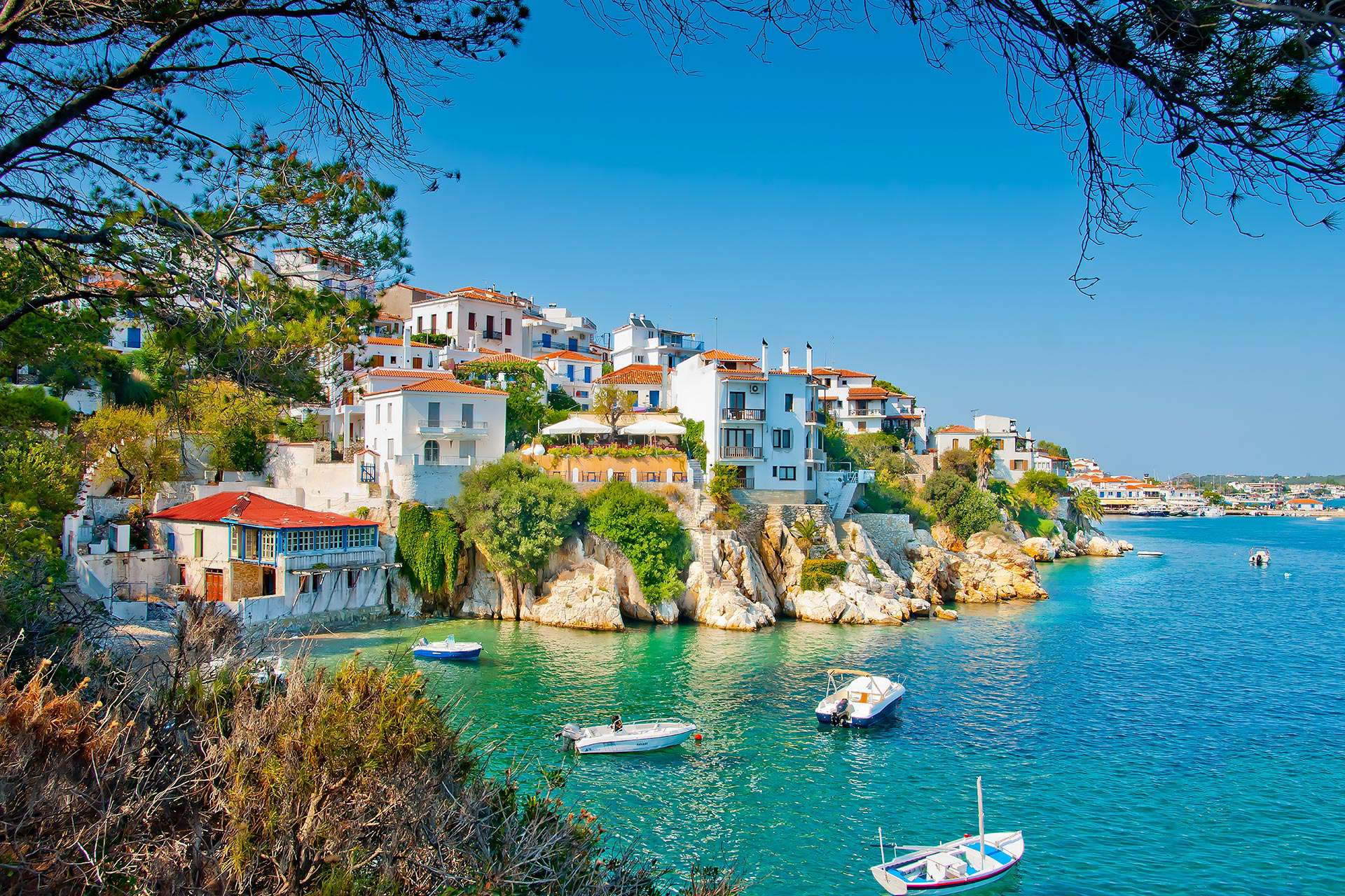 yacht charter in Skiathos