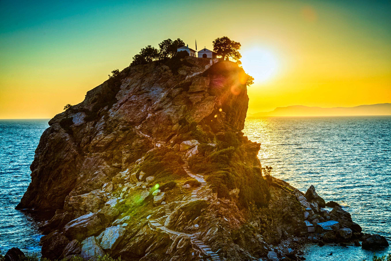 Best Island Beaches For Partying Mykonos St Barts: Sporades Islands Cruise Skiathos