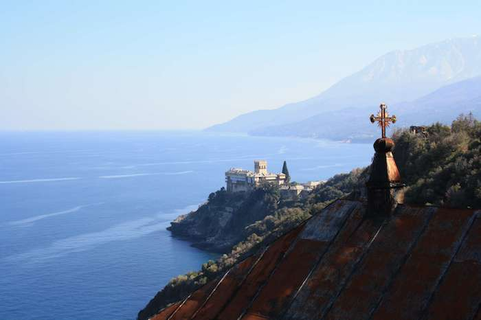 mount athos cruise