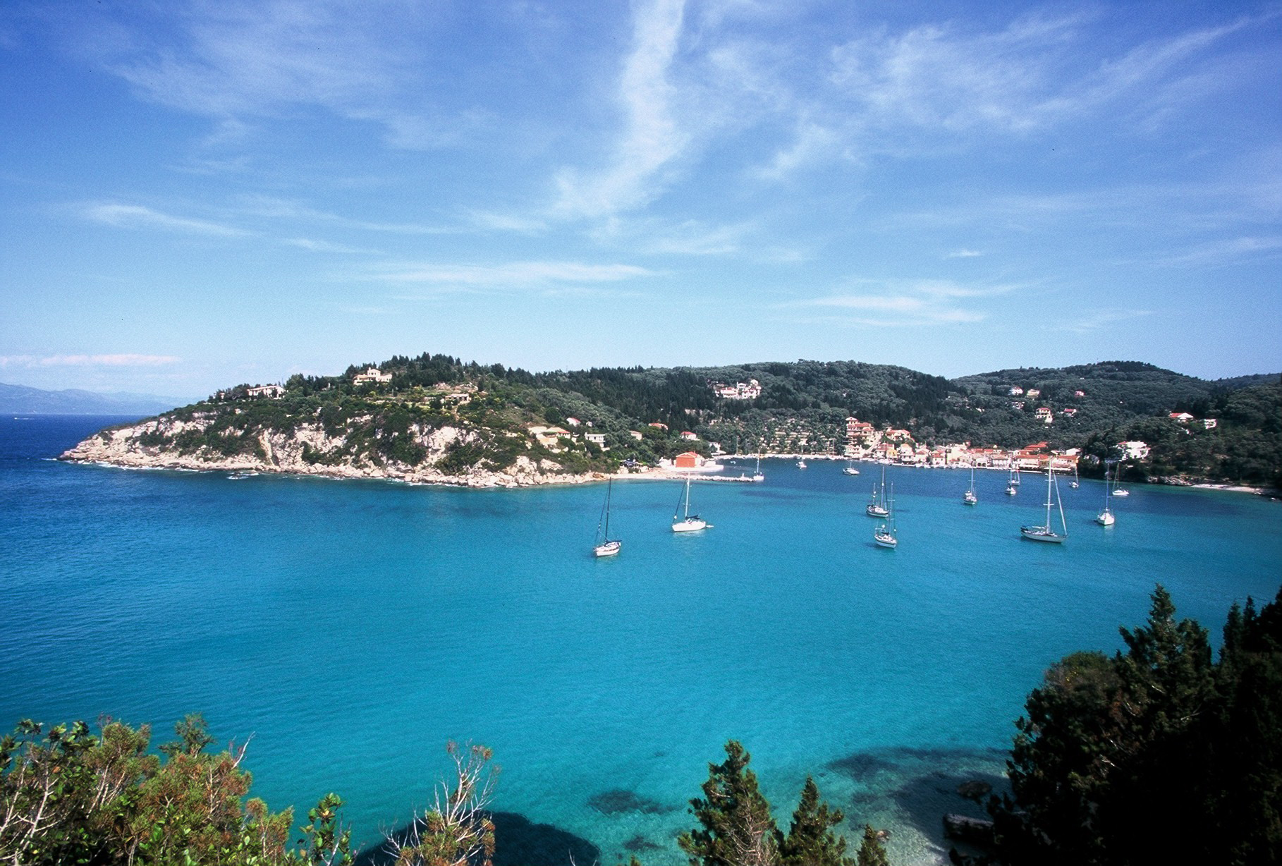 sailing holidays in Ionian Islands