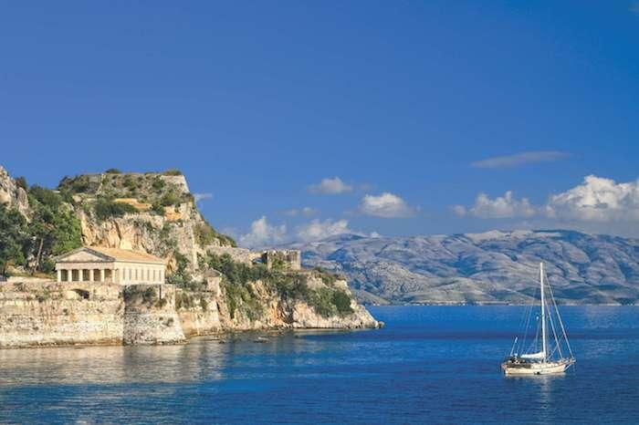 yacht charter in Corfu